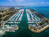 Harbor Aerial Photo