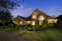 twilight image of luxury home 3